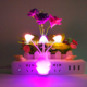Competitive variety flower shape lamp baby room decoration night light