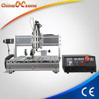 USB Interface 6040 4 Axis CNC Router Engraving Machine Alucobond