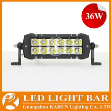 2014 New Product 3w led offroad lights, cree 36w 72w 108w 126w 180w 234w 288w led car roof rack light bar
