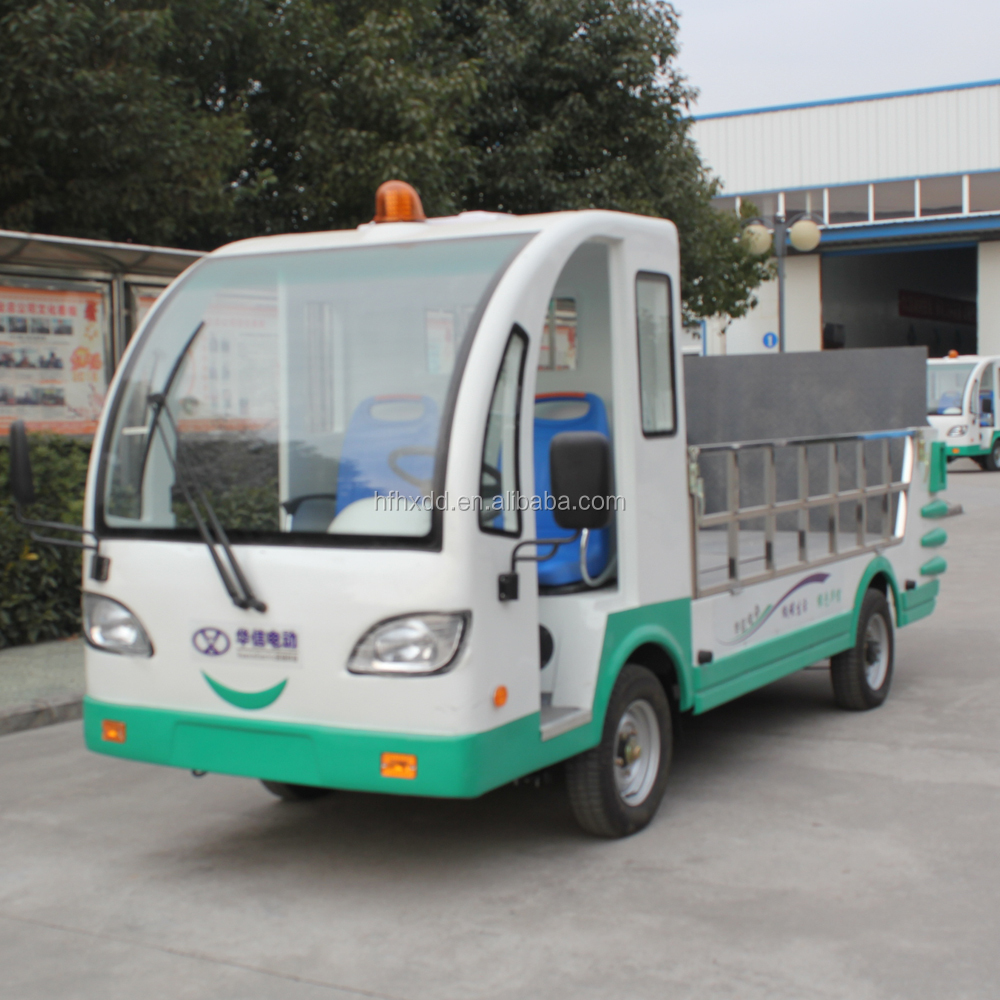 Hot sale doule 72V/5KW motors electric garbage truck