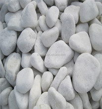 Polished Natural Pebble Sell Pebble In Bulk pure white pebbles