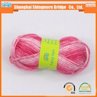 Hot sale nylon wool blended fancy yarn 1/5NM for knitting scarf