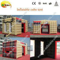 advertising inflatable air cube tent for events
