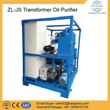 Oil Dehydration Plant Used Hydraulic Oil Filtration Machine