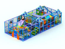 outside feature convenient Rotational indoor playground mcdonalds with indoor playground