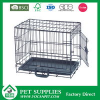 large iron dog cages