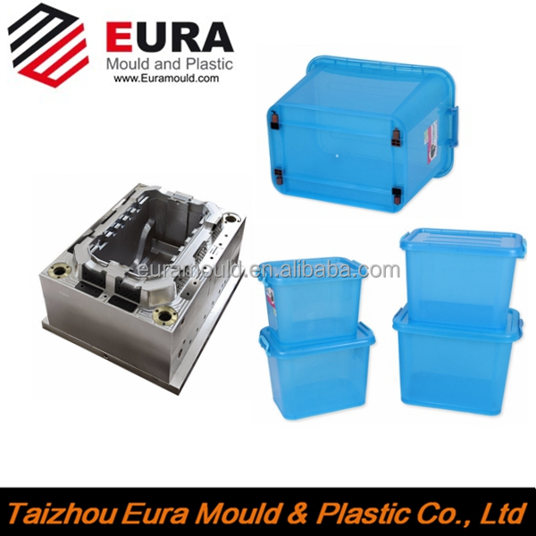 Huangyan plastic clothes storage box mould,toy storage box mold,snacks storage box mould Manufacturer