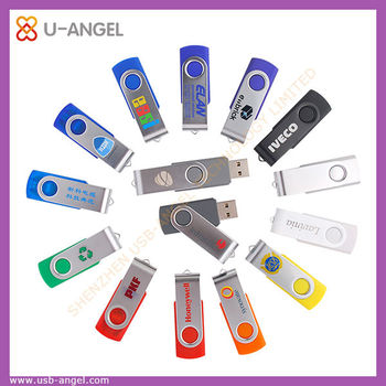 hot selling promotional swivel 16gb usb flash drives