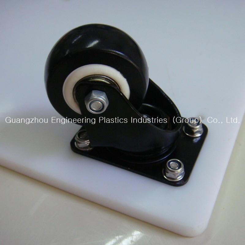 High Tensile Strength Pu Plastic Trolley Wheel For