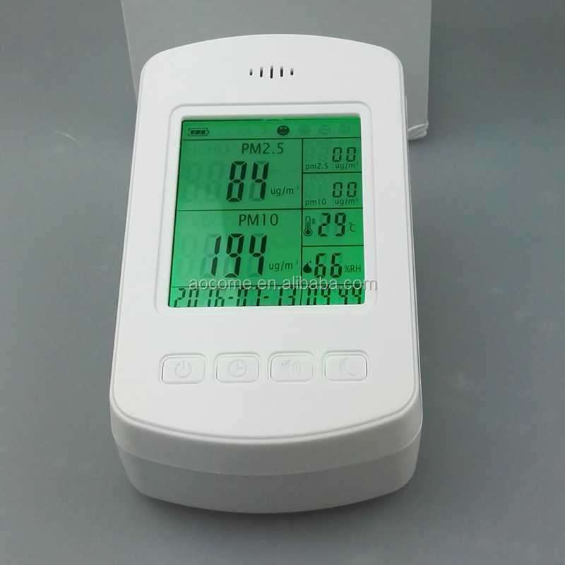 Home Use Monitoring Air Quality Monitoring System Dust PM2.5 Monitor for sales