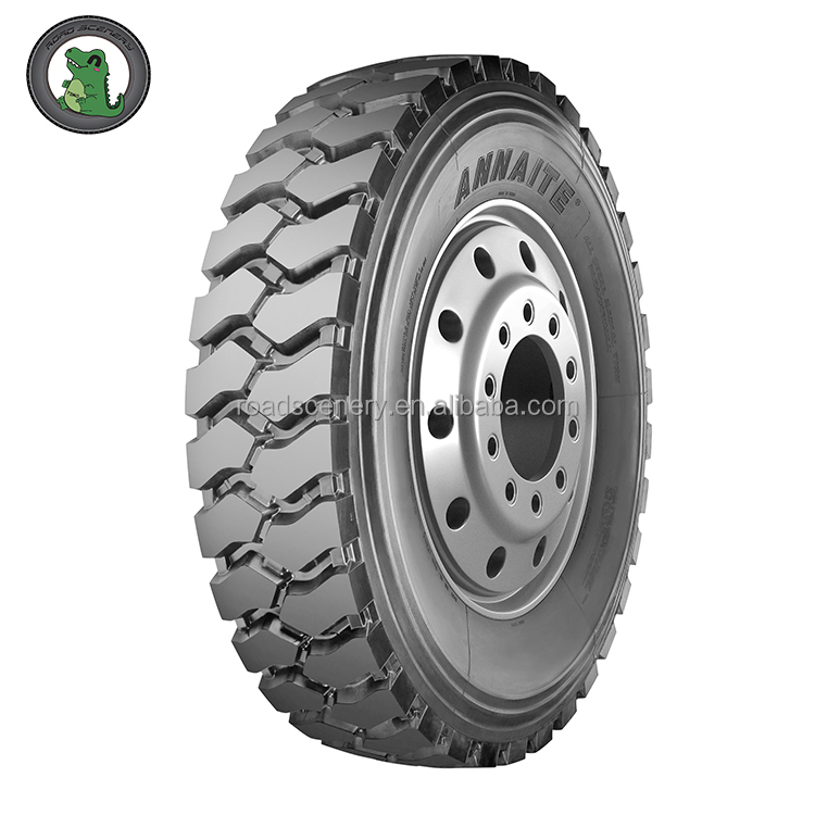 ANNAITE Brand TBR Tires 11.00R20 18PR Pattern 399 for Mine and Mountain Roads