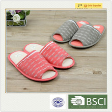 GCE1371 New design indoor bamboo slippers shoes