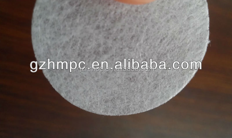 Long fiber nonwoven filter fabric