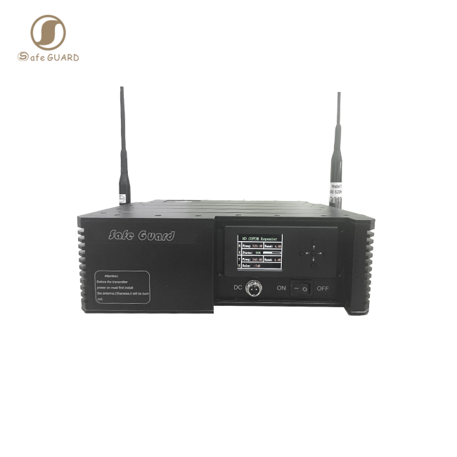 Military communication 20W data video signal COFDM wireless repeater