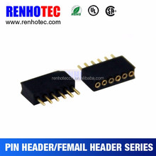 2mm SMD SQUARE HEADER RT. ANGLE male female pin header with optational peg and cap