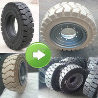 good price WonRay brand 6.00-9 industrial forklift solid tire, forklift wheels 6.00-9