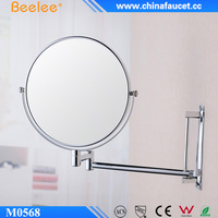 Hotel Bathroom Magnifying Smooth Two Way Wall Mirror