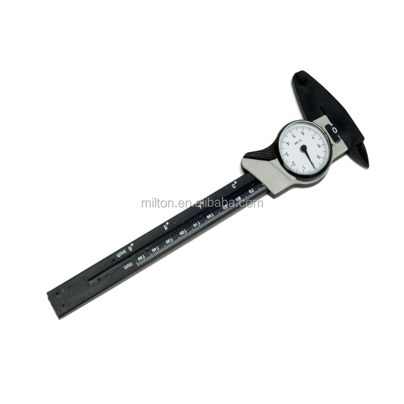 Factory Outlet Plastic Dial Caliper with plastic box High quality