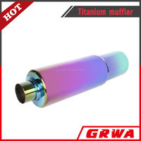 High Quality Titanium Exhaust Muffler