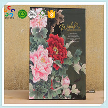 100% quality custom luxury printed cardboard Photo album gift box packaging