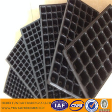 Custom High Quality PS Material Plastic Plant Nursery Seed Plug Propagation Tray