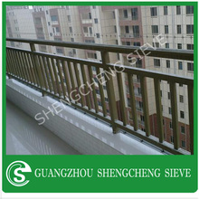 Designs/balcony wrought iron steel railing handrail and post