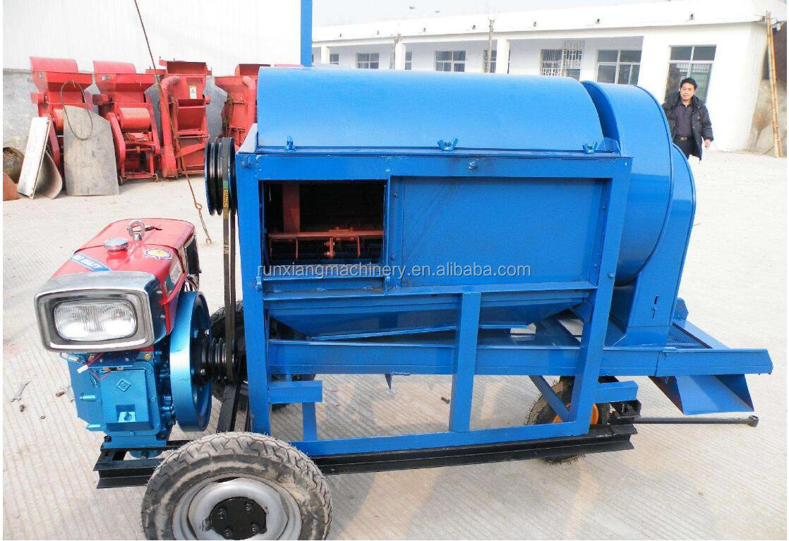 Function Small Rice Dry Bean Sheller Thresher Threshing Machine Of Uses