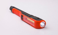 New mini LED pen pocket torch light in colored with magnetic for camping, hunting,fishing,car repair,emergency
