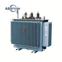Customer winding Coil Structure three phrase power transformer S9 series oil immersed 35KV