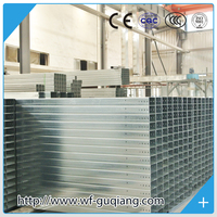 Zinc plated or Hot dip galvanised metal cable tray building materials