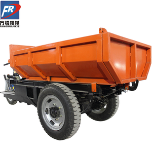 Fangrui trade assurance stable and durable battery electric cormidi mini dumper with hydraulic pump