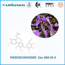 Thiocolchicoside with muscle relaxation and anti-inflammatory activity