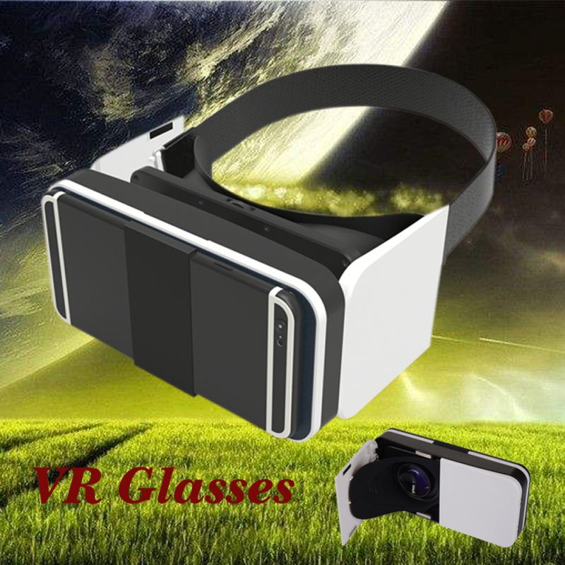 2016 New Products Portable 2nd Generation 3D VR BOX 2 Virtual Reality 3D Glasses for Blue Film Video