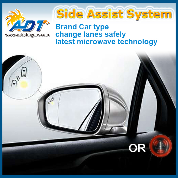 Car Blind Spot Detection Universal Rear View Sensor Safety Monitoring System