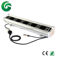 High quality 72W RGBW LED wall washer controlled by DMX