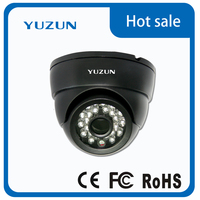 Dome IP Camera 1.0M/2.0M H.264 3.6mm/6mm/8mm 3MP Lens IR 15M DC12V P2P