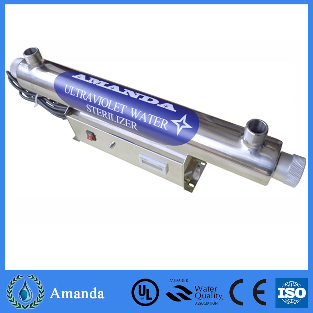 Small flow rate 6gpm uv water sterilizer drinking water