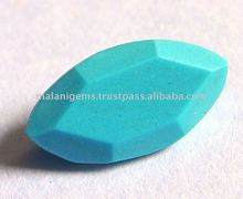 Natural Turquoise Fancy Cut Shape Loose Stone