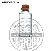 20ml clear antibiotic/ injection/gift glass bottle with cork