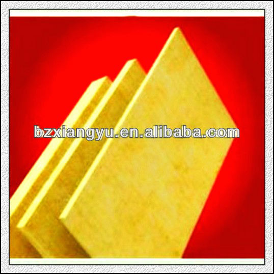 China factory supply superior heat preservation/thermal insulation materials high density rock wool/mineral wool board