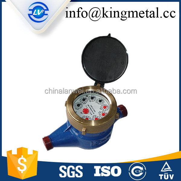 China factory pvc materials elster water meter with cheap price