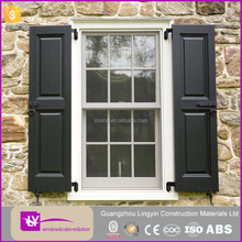 Guangzhou upvc window and door shutter with grill whole sale price