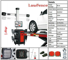 Lawrence 3d space wheel aligner+3d wheel alignment