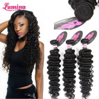 Cheap 100% Human virgin human brazilian deep wave braiding hair