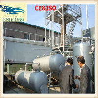 The hottest selling waste scrap tyres to oil plant with CE