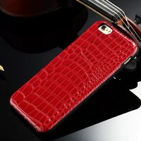Cheap Mobile Phone Covers, Design Mobile Phone Cover, Crocodile Leather Phone Case