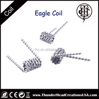 THC new products e cig rda atomizer coil, eagle coil, heating element