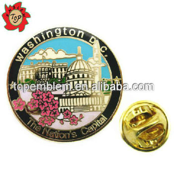 The nation's capital of USA military lapel pins