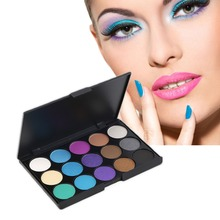 Professional 15 Colors Matte Shimmer Eyeshadow Palette Makeup Cosmetic wonderful color choices Brand new and high quality!