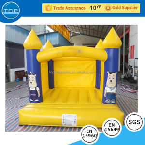 Golden supplier disco dome bouncy castle clown new amusement park inflatable with high quality
